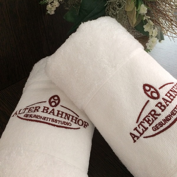 Alter Bahnhof - Gesundheitsstudio - Handtücher